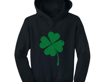Faded Shamrock - St. Patrick's Day - Toddler Hoodie