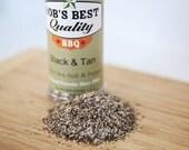 Bob's Best Quality Black & Tan Spice Rub