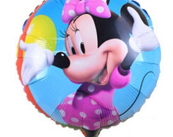 Minnie Mouse, Minnie Mouse Party, Minnie Mouse balloon, Minnie Mouse birthday, Minnie Mouse party supplies, Minnie Mouse mylar balloon