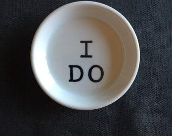 I DO Ring Dish