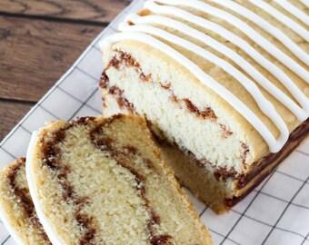 Vegan & Gluten Free Cinnamon Swirl Bread