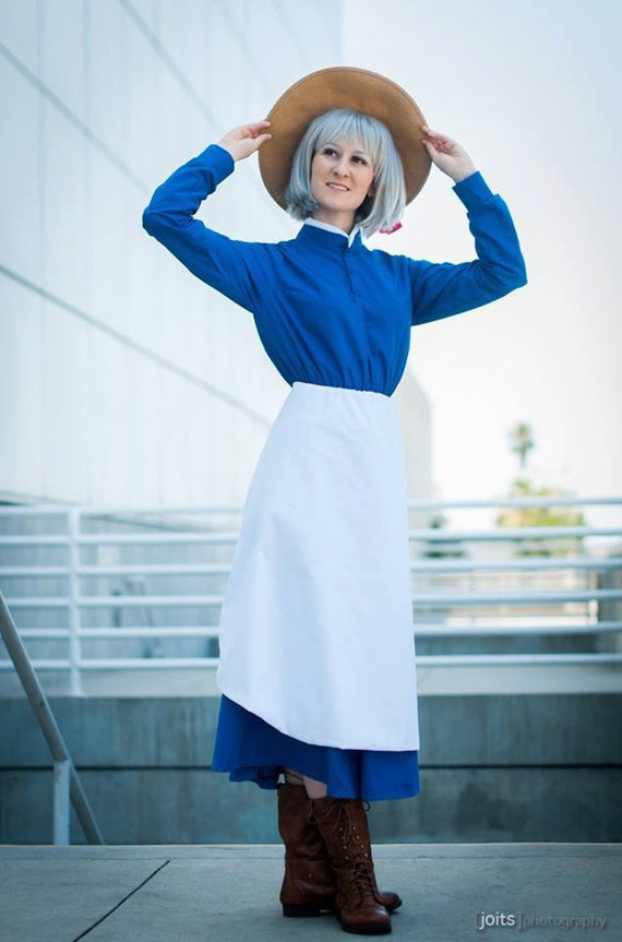 Custom Howl's Moving Castle Sophie Cosplay Costume