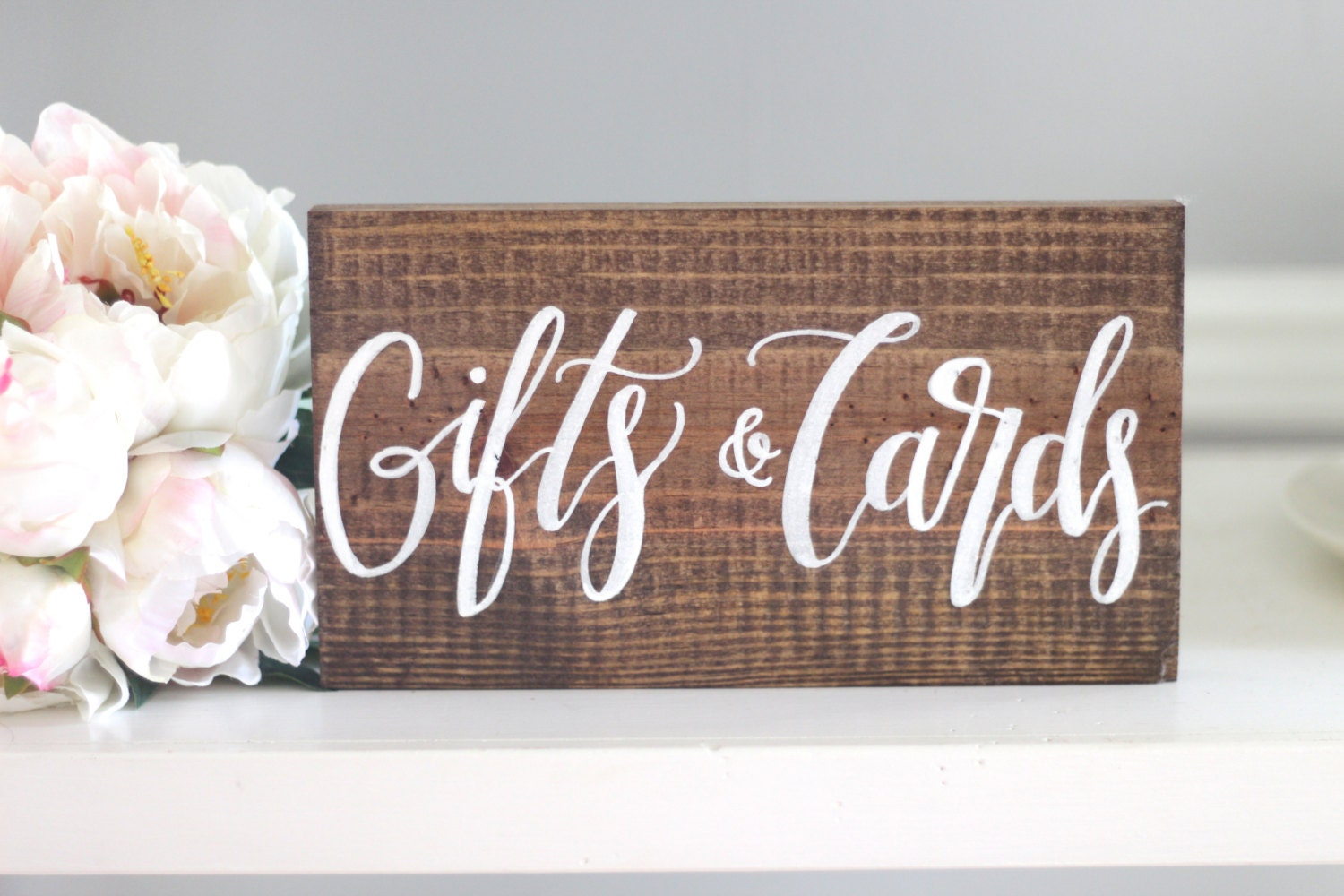 Wedding Gift Card Sign : Gifts & Cards Sign Rustic Wedding Signs Cards Sign Wooden