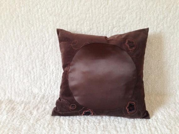Velour Throw Pillows : Velour & Silk Pillow 20x20 by SASHUdecorbureau on Etsy