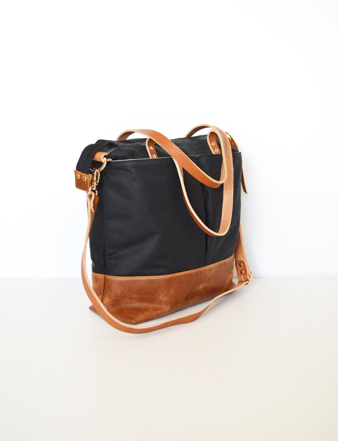 diaper bag backpack leather and waxed canvas unisex diaper. Black Bedroom Furniture Sets. Home Design Ideas