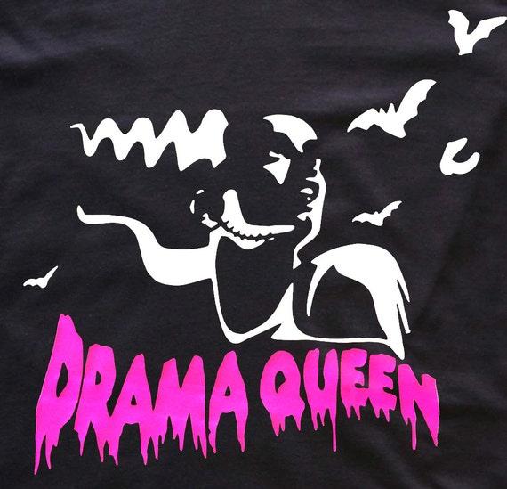 Drama Queen t-shirt goth - Frankenstein Bride
