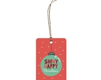 Christmas Gift Tag – Shiny Happy Christmas.