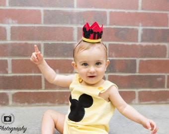 Mickey Mouse Birthday Crown, Mickey Mouse Birthday Hat, Mickey Mouse Party Hats,  Mickey Mouse Crown, Mickey Mouse,