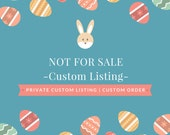 NOT for sale | Custom Listing for Cristyn | Custom Order