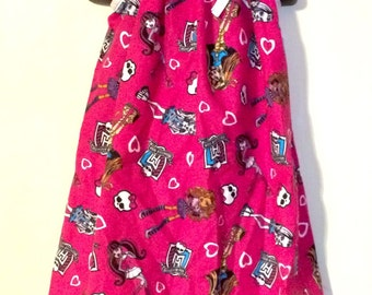 Monster High Pink Sundress (Multiple Sizes Available)
