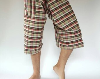 F30003  thai fisherman/yoga are pants free-size: will fit men or woman