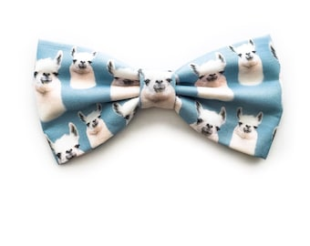 Llama Bow Tie, with Adjustable Strap, Llamas, Quirky Gifts, Llama Party, Zoo Animals, Cute Animals, Animal Theme Birthday, Alpaca, Zoo Party