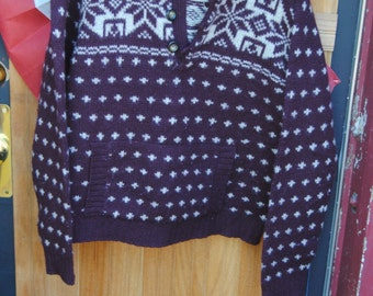 Vintage Abercrombie and Fitch Sweater/XL/Women's