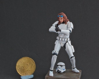 70mm StarWars Rebel disguised as Trooper custom figure NorthStarModels