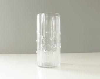 Iittala Finland Mesi Glass Vase Tapio Wirkkala Mid Century Modern