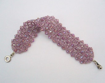 Filigree bracelet in pink