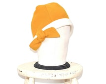 Cloche Hat - Vintage 60s Yellow Flapper Style Hat - 20s Style Mid Century Hat - Vintage Ladies Hat