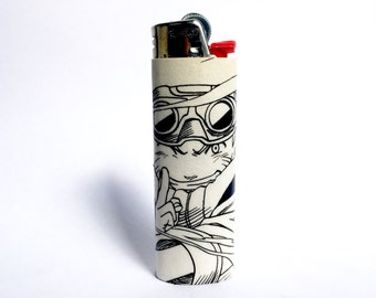 Naruto Comic Book Custom Bic Lighter