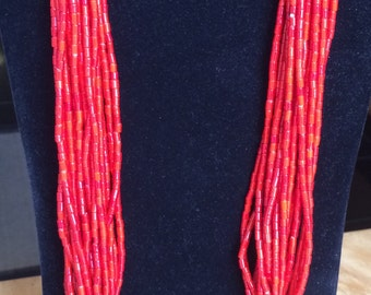 Beautiful Red Bead necklace