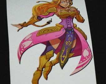 Zelda Hyrule Warriors Decal