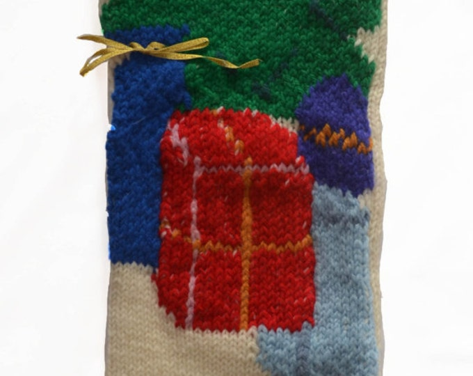 Christmas Tree Stocking - MADE TO ORDER