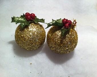 Gliter Christmas ball