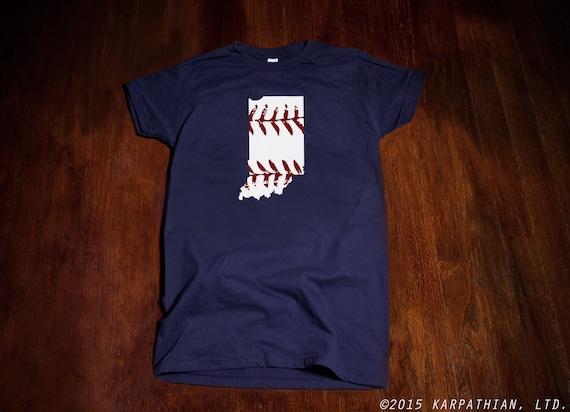 Indiana baseball Ladies junior fit t-shirt
