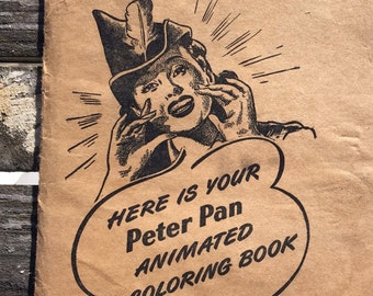 Derby Foods Peter Pan Animated Coloring Book