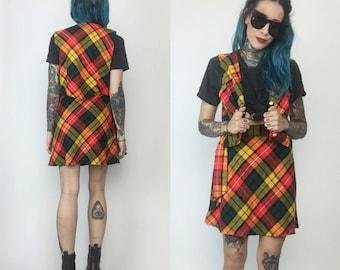 Wool mini skirt   Etsy