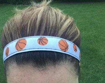 Basketball Headbands for Girls - Girls Basketball Gifts - Basketball Girl Head Bands - Choice of Patterns - Womens Sport Basketball Headband