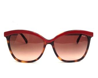 FENDI tortoiseshell wayfarer sunglasses shades