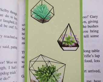 Terrarium Plant Bookmark