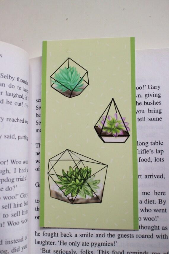 Terrarium Plant Bookmark