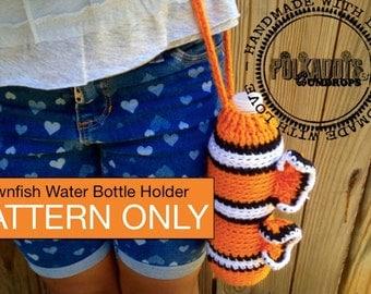 Clownfish Water bottle holder Pattern