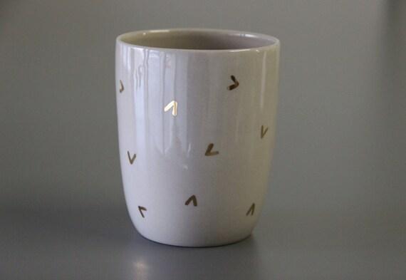 Gold Coffee Mug Gold Pattern Mug Coffee By