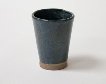 Teal Ceramic Cup