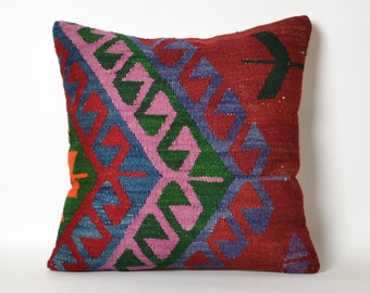 bohemian pillow, boho pillow, throw pillow, decorative pillows, pillow cover, kilim pillow, tribal pillow, decorative pillow, home decor