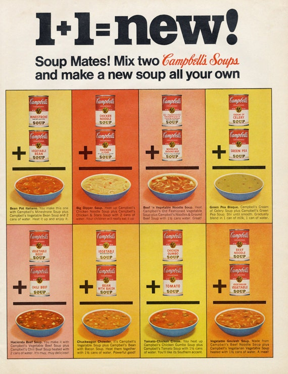 campbell s country kitchen 1967 campbell s soup vintage advertisement print retro 1967
