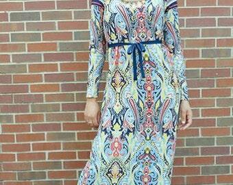 Najma Maxi Dress (multi color)