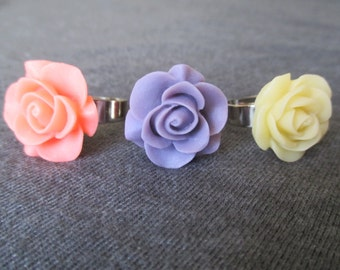 Rose Flower Ring -- A Pretty Thing for Your Finger!