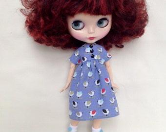 Rockin Robin! Dress for Blythe doll
