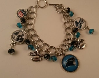 Football Team Bracelet Handmade