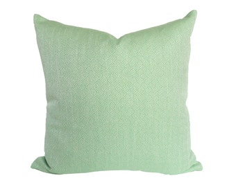 READY to SHIP - 20x20 Lulu DK Claude Kelly Green designer pillow cover