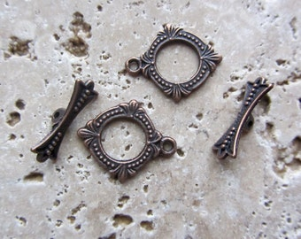 Two Toggles Antique Copper