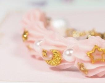 Strawberry Whipped Cream Bracelets