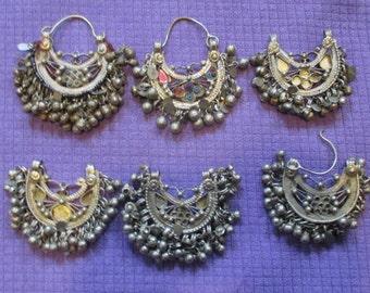 Afghan Kuchi Earrings - Variations -- Tribal Belly Dance ATS
