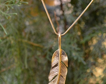 """Necklace """"Feather"""""""