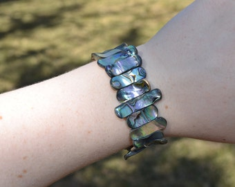 Abalone Stretch Bracelet