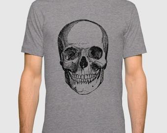 Skull Tshirt - Skull Men's Tee T Shirt Skull Women's T Shirt   T-shirt - XS, S, M, L, XL