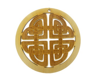 Celtic Knot Ornament - Irish Ornaments - Celtic Design Ornament- Celtic Gift- Celtic Symbol - Celtic Knot Designs - Personalized Free